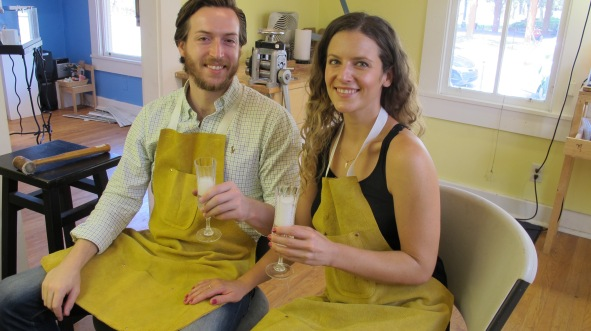 Dan Balk Jewelry Studio Couples Class, Couples Jewelry Making Class, 1-day Private Workshop