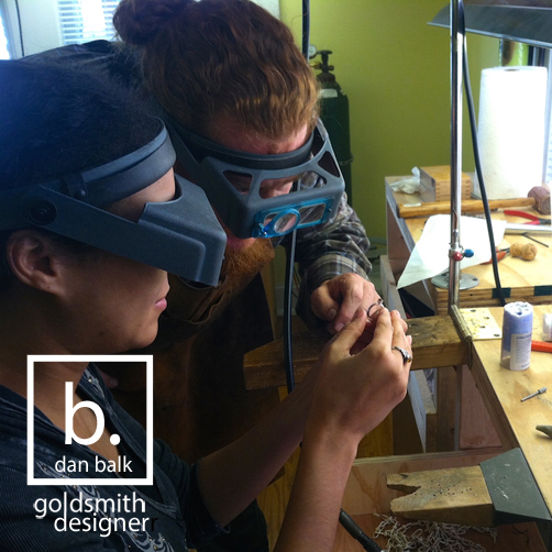 Dan Balk Jewelry Classes, 1-day Private Silversmithing Instruction