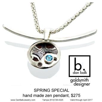 Dan Balk Jewelry Zen Pendant