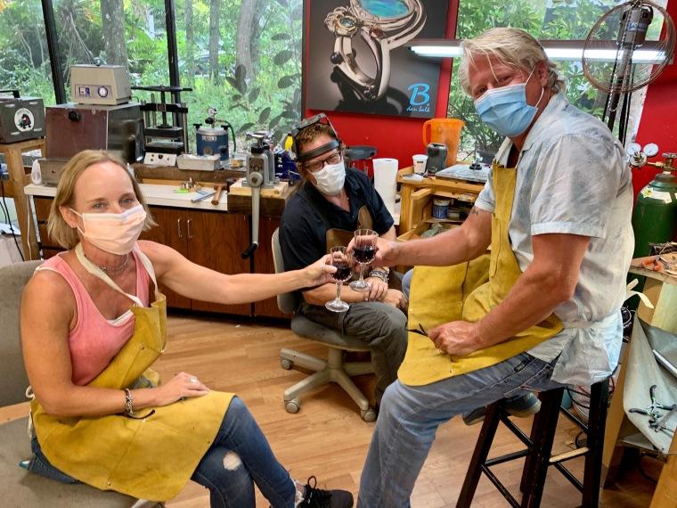 Dan Balk Jewelry Couples Ring making Class